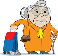 babcia jadzia idzie do apteki