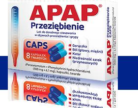 APAP Przeziębienie CAPS