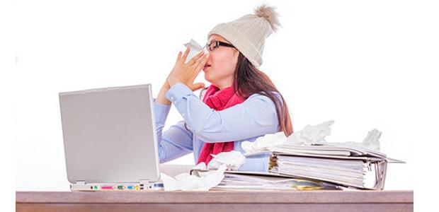 przeziębienie w pracy