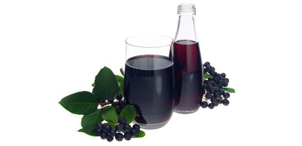 Zdrowy sok z aronii
